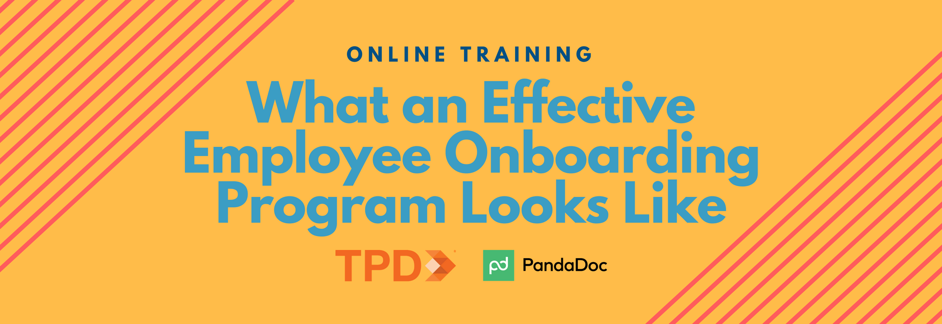TPD.com | What an Effective Employee Onboarding Program Looks Like Webinar: Your Questions Answered!