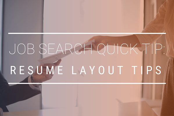 JOB SEARCH QUICK TIPS  (3)